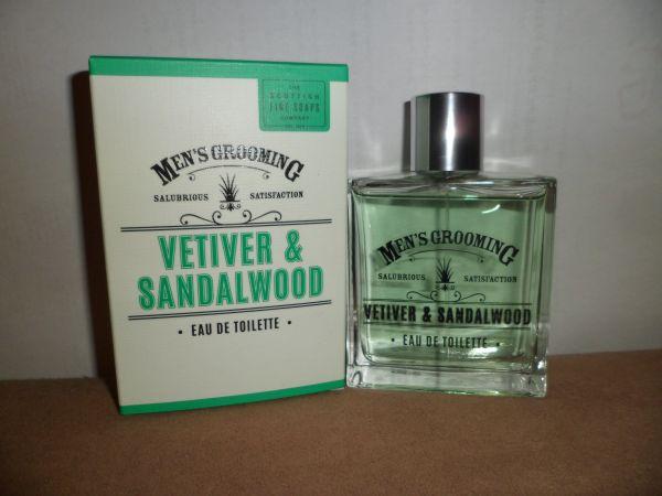 Eau De Toilette Ventiver & Sandelwood