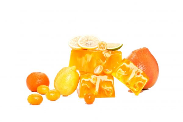 Aromaseife Zitrusfrüchte