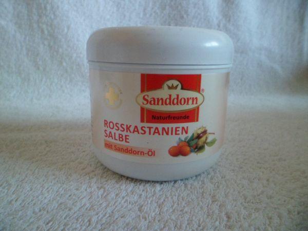 Rosskastanien-Salbe mit Sanddornöl