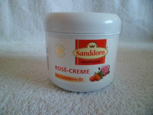 Rose-Creme mit Sanddorn-Öl