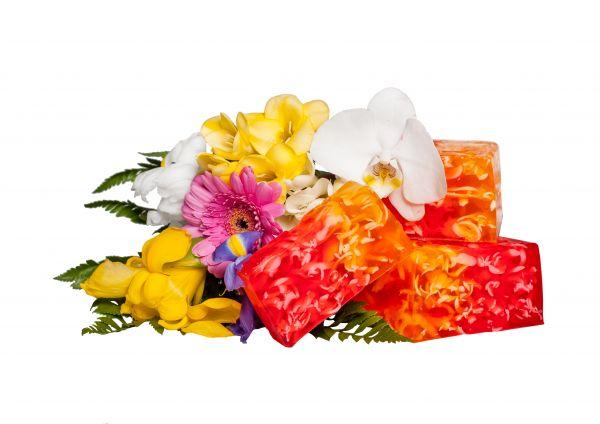 Cremeseife Blumenparadies mit Sheabutter