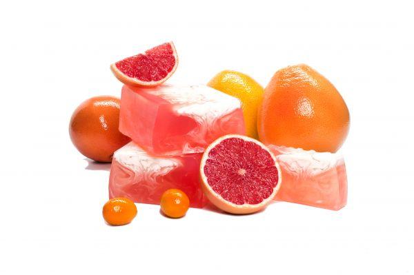 Cremeseife Grapefruit mit Kokosnuss- und Mandelöl