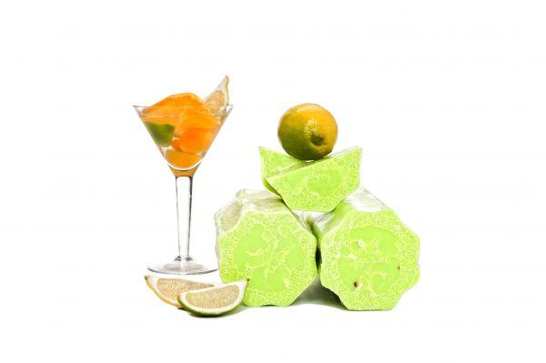 Luffaseife Zitrusfrüchte Cocktail