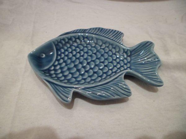 Seifenschale Fisch blau