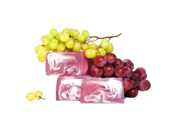 Cremeseife Weintraube mit Kokosnuss und Mandelcreme