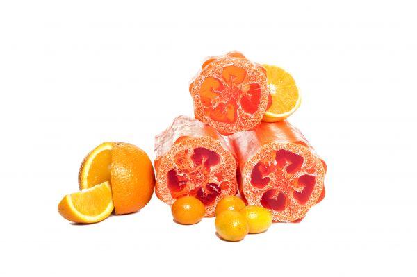 Luffaseife Orangenfrische