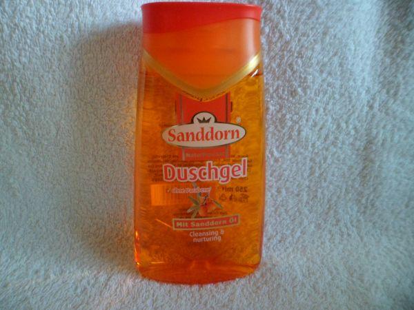 Duschgel mit Sanddornöl